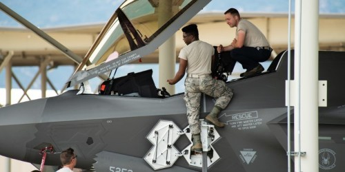 The F-35 test squadron has terrible mission capable rates