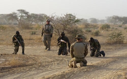 Four US soldiers were reportedly left behind amid Niger ambush