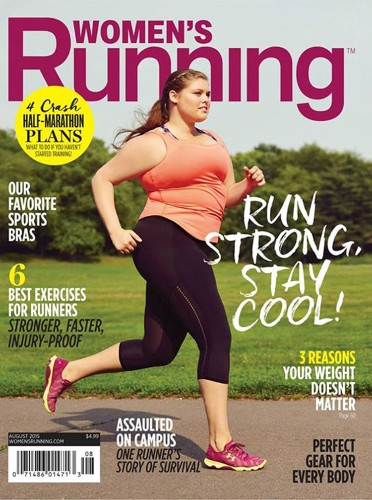A magazine just made a powerful statement about runners' stereotypes