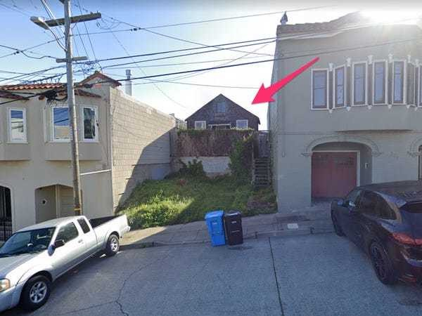 'Uninhabitable' San Francisco shack is listed for nearly $2 million - Business Insider