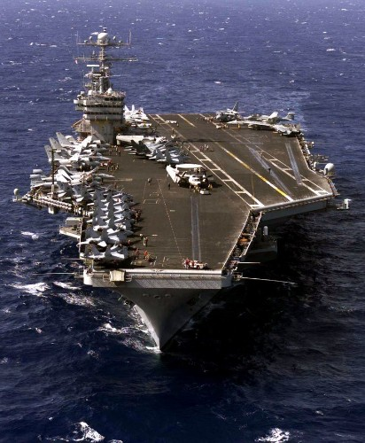 A former Navy captain just identified the biggest flaw in the US aircraft-carrier strategy