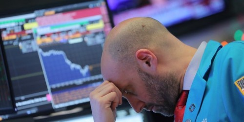 Stocks plunge as global recession fears rattle investors