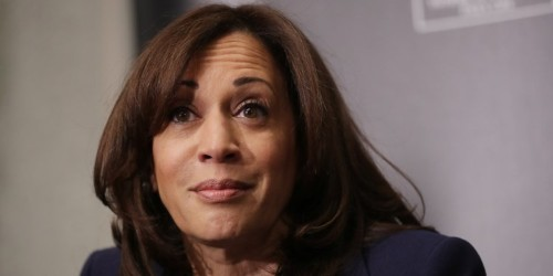 Kamala Harris says Bernie Sanders was right on NAFTA and that she wouldn't have voted for the trade deal