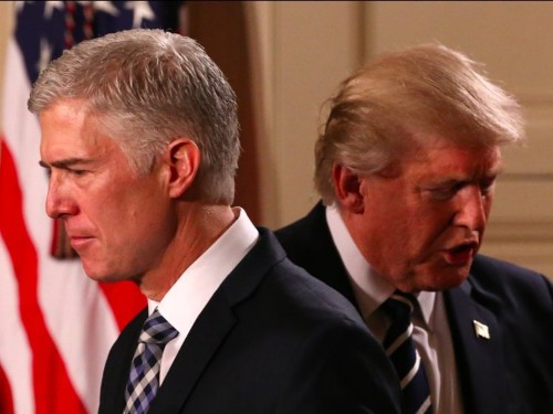 Trump's Supreme Court pick once accused lawmakers of 'grossly mistreating' judicial nominees