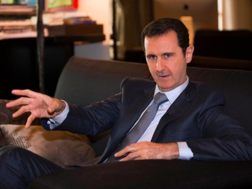 The US' best-case scenario for Syria has Assad staying in power when Obama leaves office