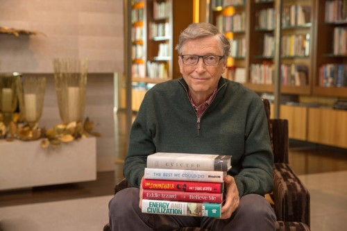 Bill Gates reveals his 6 favorite books he read in the past year