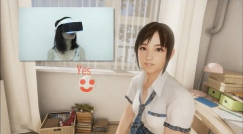 People Are Complaining About The Anime Schoolgirl Sony Used To Demo Its VR Headset
