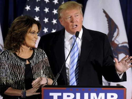 TRUMP: It was fair for Sarah Palin to link son's domestic-violence arrest to Obama