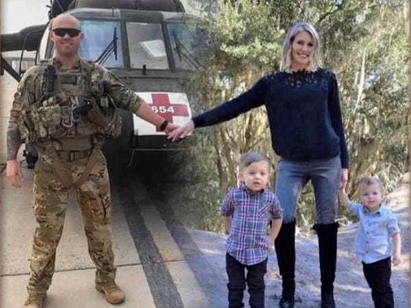 Military family Photoshops themselves together for Christmas card - Business Insider