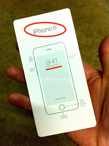 Leaked Document Allegedly Shows Apple Will Unveil iPhone 6 On Tuesday, Sept. 9