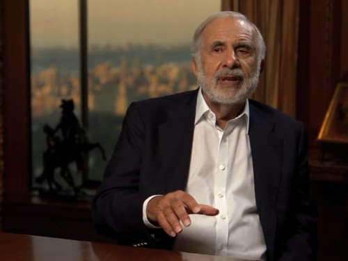 CARL ICAHN WARNS: The red-hot stock market is being supported by an unsustainable earnings mirage