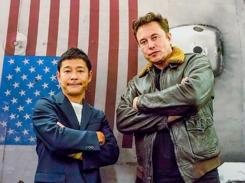 Billionaire Yusaku Maezawa resigns to train for SpaceX moon flight