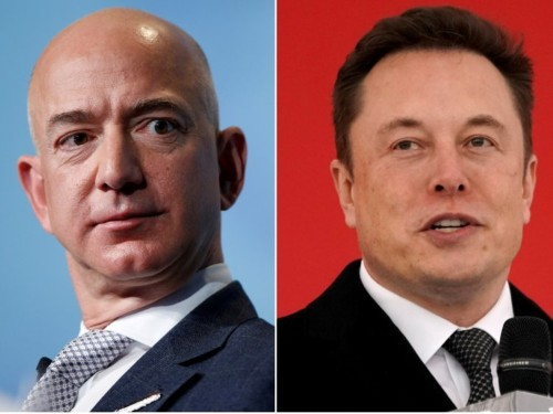 Elon Musk dunked on Jeff Bezos' vision for space colonies