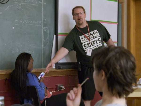 Undercover high: Teachers have less control than ever - Business Insider