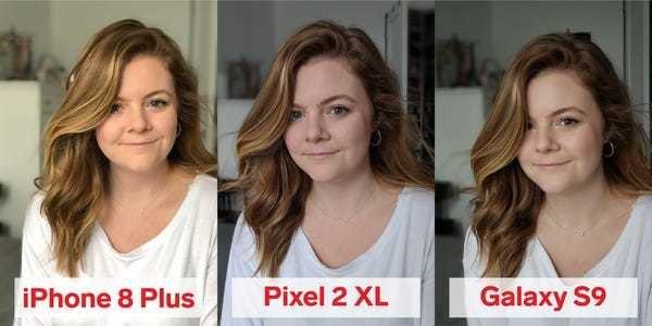 Portrait mode comparison: Apple iPhone 8 Plus, Google Pixel 2 XL, and Samsung Galaxy S9 - Business Insider