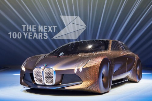 BMW's driverless concept car looks straight from the future