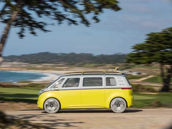 VW's iconic microbus is making a comeback in 2022 — and it's getting a big update - Business Insider