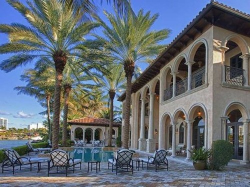 HOUSE OF THE DAY: Billy Joel Sold His Miami Beach Mansion To An Italian Billionaire For $14 Million