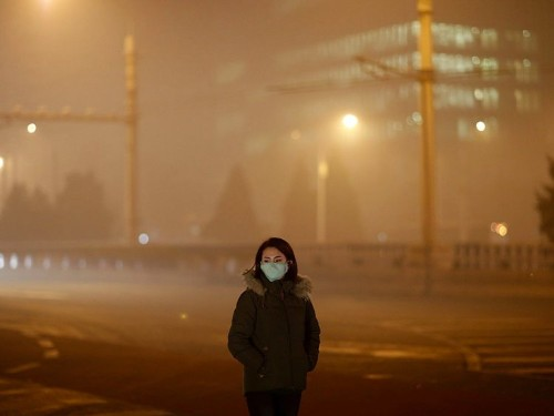 29 eerie photos that show just how polluted China's air has become