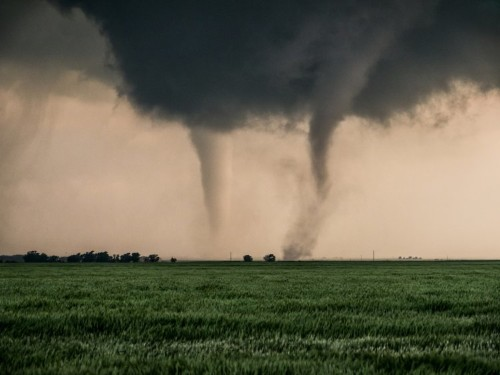 Over 30 tornadoes touched down and slammed the central US, and more extreme weather is on the way