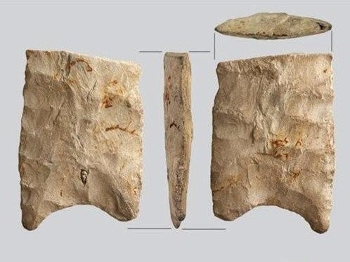 Researchers stumbled upon a 'newly unearthed slice of human history' just before a new bridge was built over it