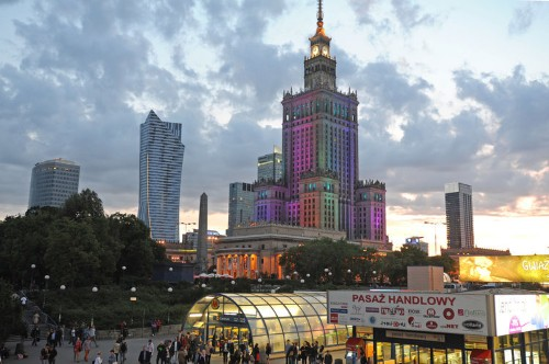 Poland's capital is centered around a 'gift' from Joseph Stalin with a contentious past