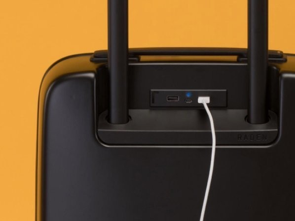 My favorite smart suitcase charges your phone, weighs itself, and will never get lost