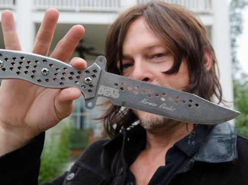 Why you'll start to see a lot fewer guns on 'The Walking Dead' in the future