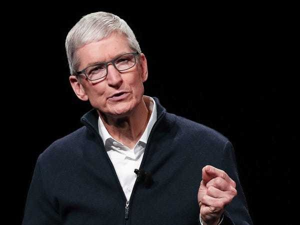 Apple CEO Tim Cook on 'revelation' that made him realize highest value - Business Insider