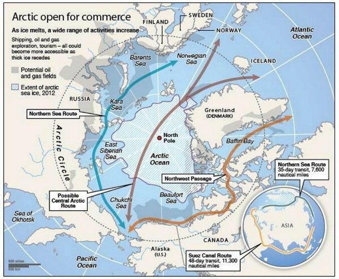 Russia Is Militarizing The Arctic