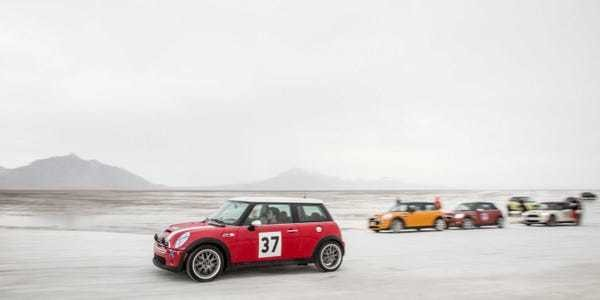 Hundreds Of MINI Owners Are Driving From Coast To Coast [PHOTOS] - Business Insider