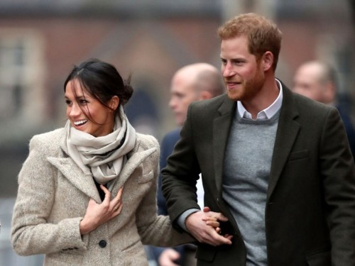 Prince Harry shared a rare photo of him and Meghan Markle
