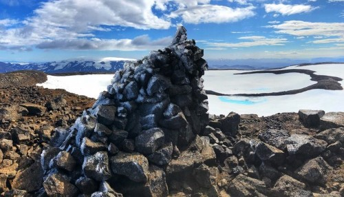 People in Iceland are erecting a plaque to eulogize the country's first glacier lost to climate change