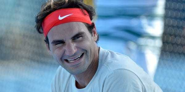 Roger Federer tweet about return to pro tennis leaves fans in stitches - Business Insider