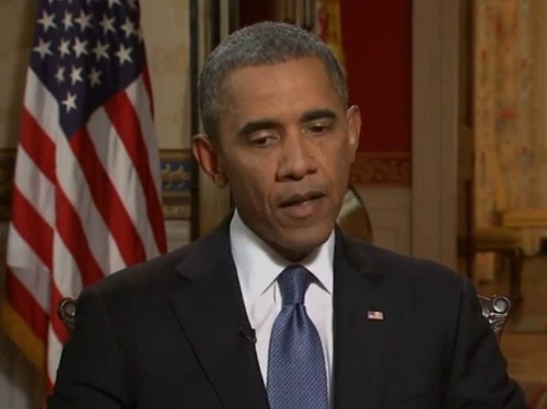 OBAMA: Syria's Not Going To Be Another Iraq