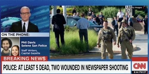 Capital Gazette reporter to Trump: 'Thanks for your prayers, but I couldn't give a f--- about them if there's nothing else'