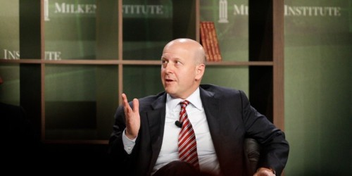 Goldman Sachs CEO: The chance of recession is 'still relatively low'