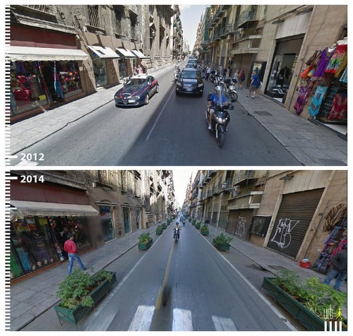 41 amazing public space transformations captured by Google Street View
