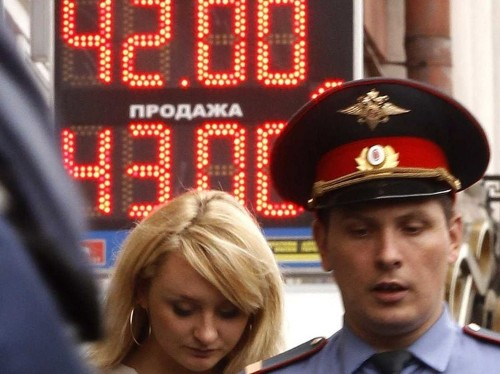 RUSSIAN STOCKS GET DECIMATED