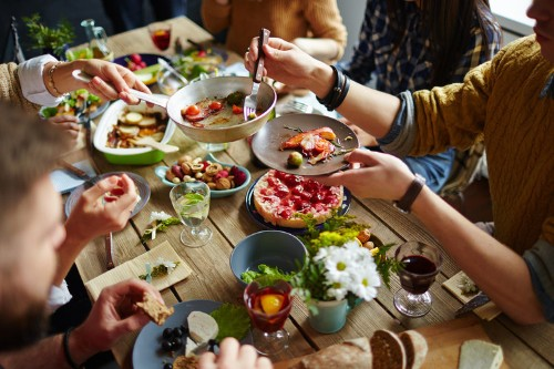 How to stay healthy when with family who don't care about nutrition