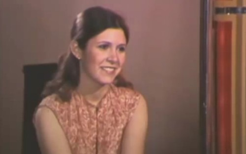 Carrie Fisher interview before she was famous - Business Insider