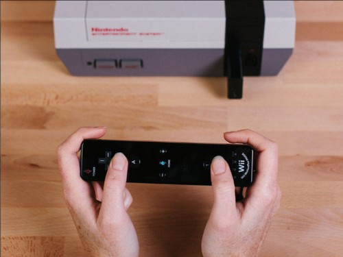 This $20 accessory lets you connect a wireless controller to the original Nintendo