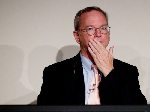 Former CEO Eric Schmidt says Google had to revamp its whole hiring process because they were interviewing candidates 16 times