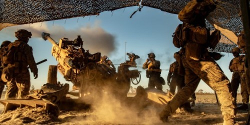 Here's what it looks like when US Marines put their biggest guns to the test