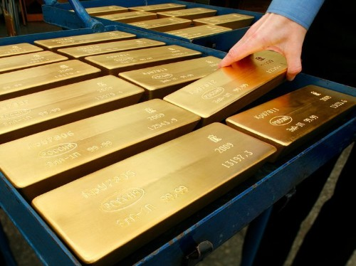 The meltdown in the price of gold may be cause for optimism