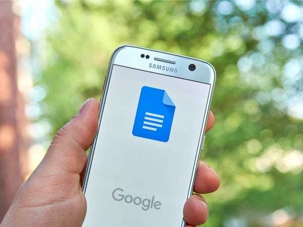 How to change the page orientation in Google Docs on desktop or mobile - Business Insider