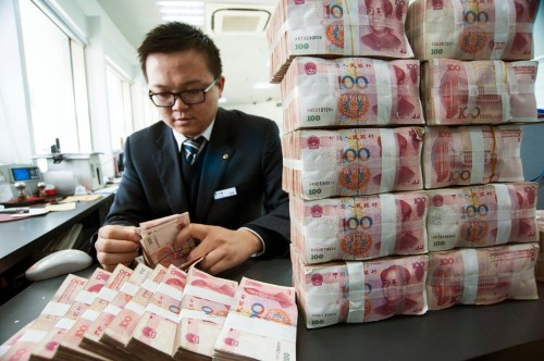 Prominent Chinese banks are at the center of the $1.8 trillion counterfeit money market