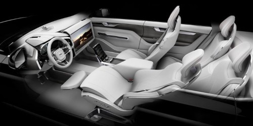 Volvo's new driverless concept car has modes for 'drive,' 'create,' and 'relax'