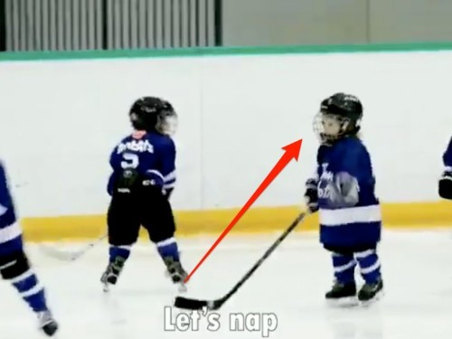 Canada hockey coach mic's up 4-year-old son to adorable results