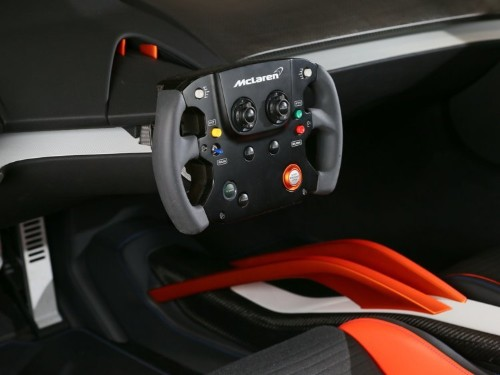 This gorgeous concept car has a steering wheel that looks like a game controller